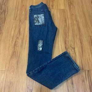LOVE MOSCHINO Patch Work Skinny Jeans